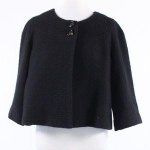 Banana Republic black tweed jacket 14